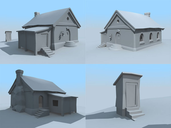 3d House Building Games